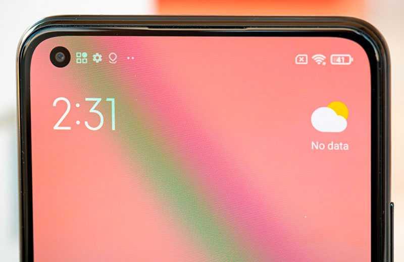 Xiaomi Mi 11 Lite панель