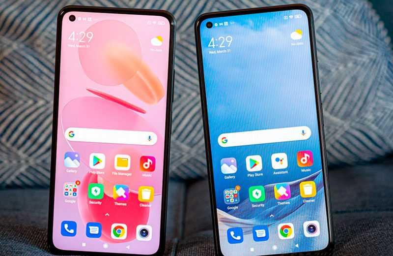 Xiaomi Mi 11 Lite и Xiaomi Mi 11 Lite 5G