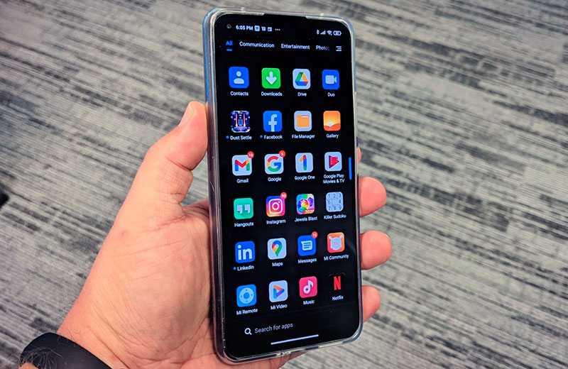 Xiaomi Mi 11 Lite система