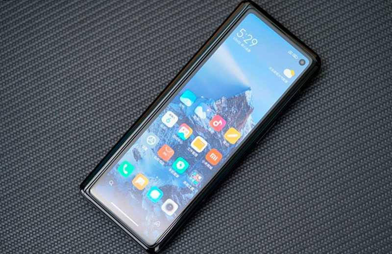 Второй экран Xiaomi Mi Mix Fold