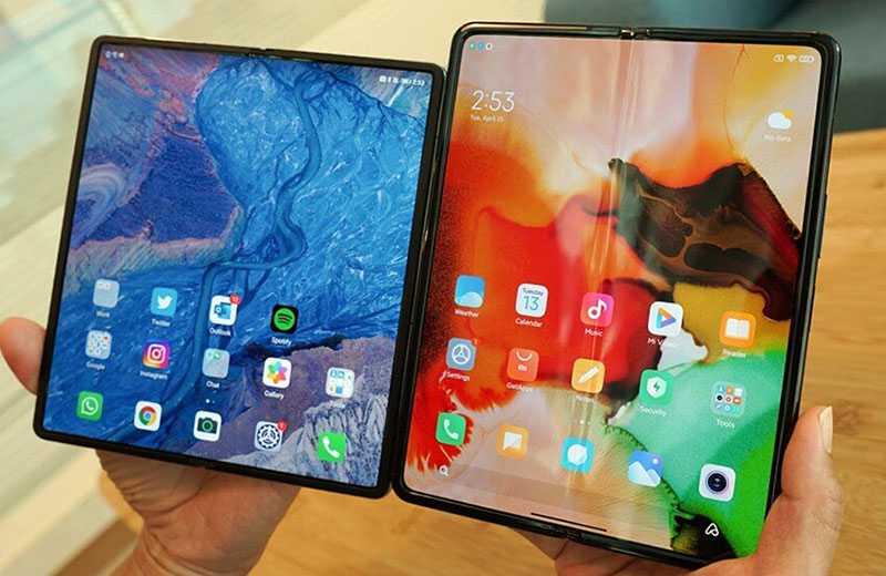 Huawei Mate X2 и Xiaomi Mi Mix Fold