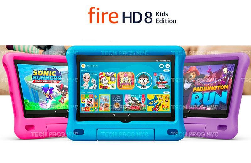 Amazon Fire HD 8 Kids Edition – лучший планшет для ребёнка