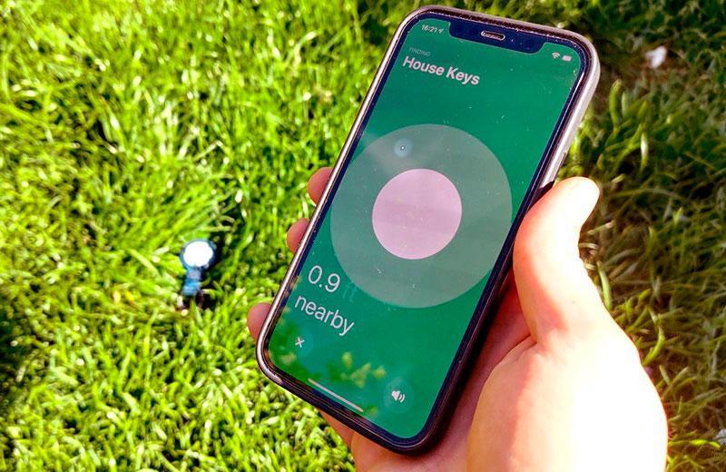 Поиск Apple AirTag