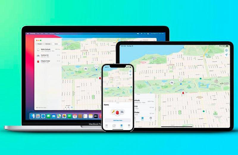 Глобальный поиск Apple AirTag