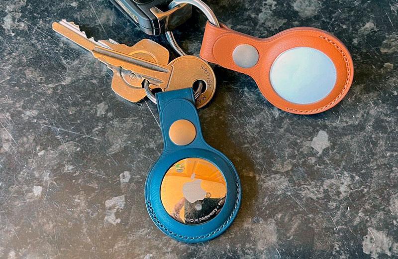Apple AirTag на ключах