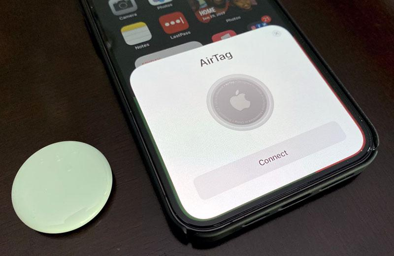Настройка Apple AirTag
