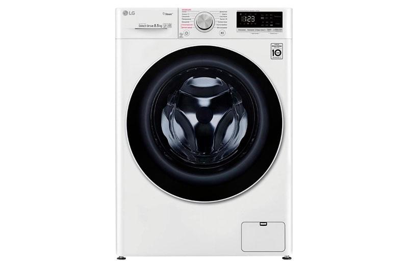 LG F-2V5GS0W – стиральная машина хорошего качества для семей с детьми