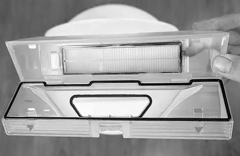 Xiaomi Dreame D9 контейнер
