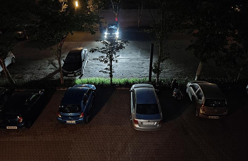 Xiaomi Mi 11X съёмка ночью