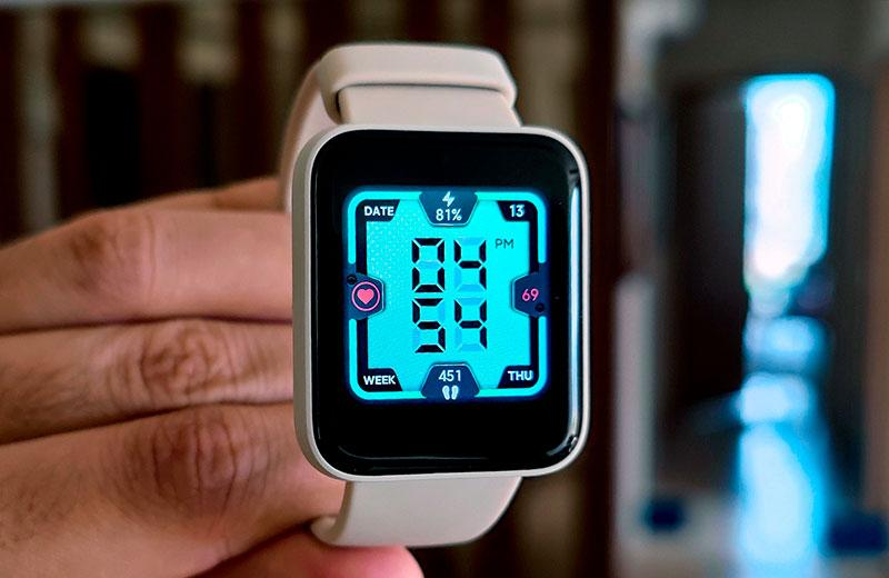 Xiaomi Redmi Watch яркость экрана