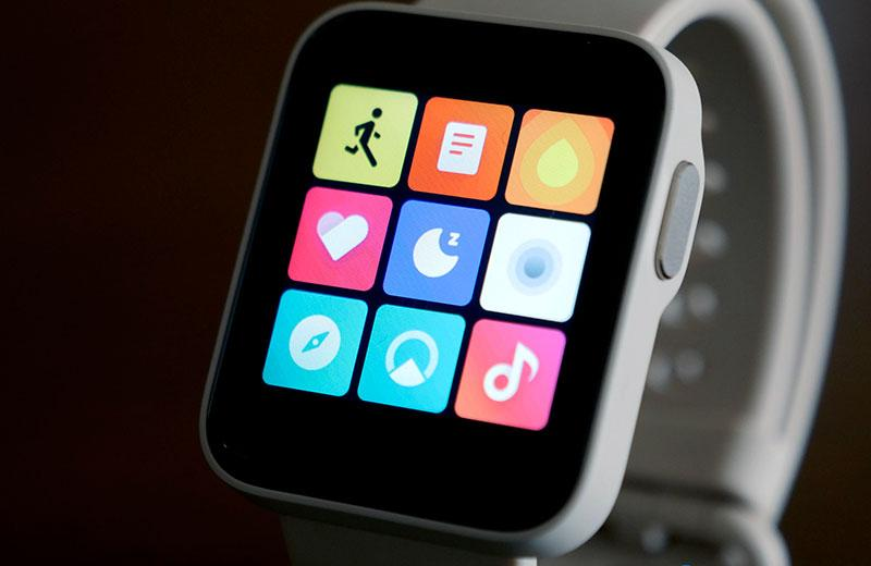 Xiaomi Redmi Watch система часов