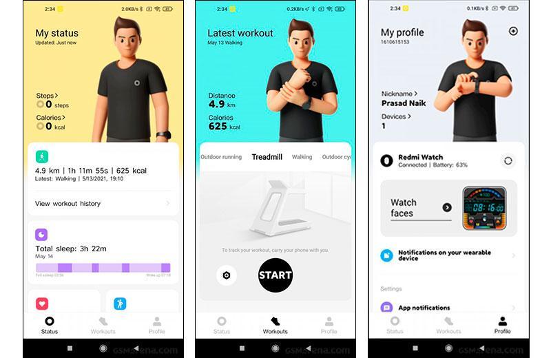 Xiaomi Redmi Watch приложение