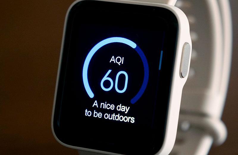 Xiaomi Redmi Watch отслеживание аоказатлй