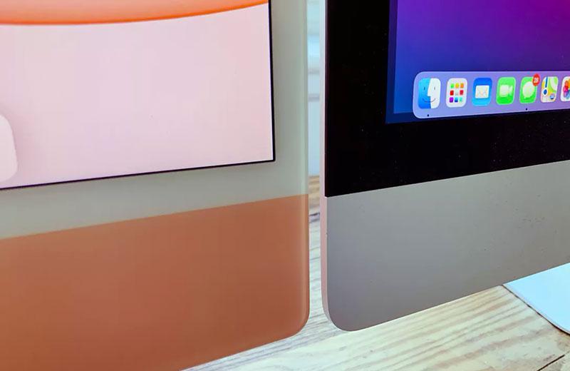 Apple iMac 24 M1 (2021) рамки экрана