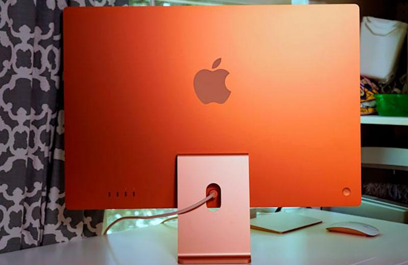 Подключение Apple iMac 24 M1 (2021)