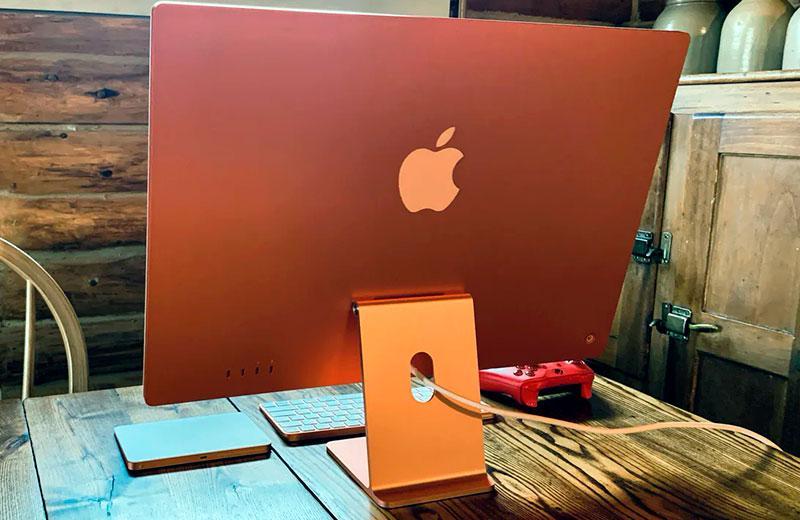 Дизайн Apple iMac 24 M1 (2021)