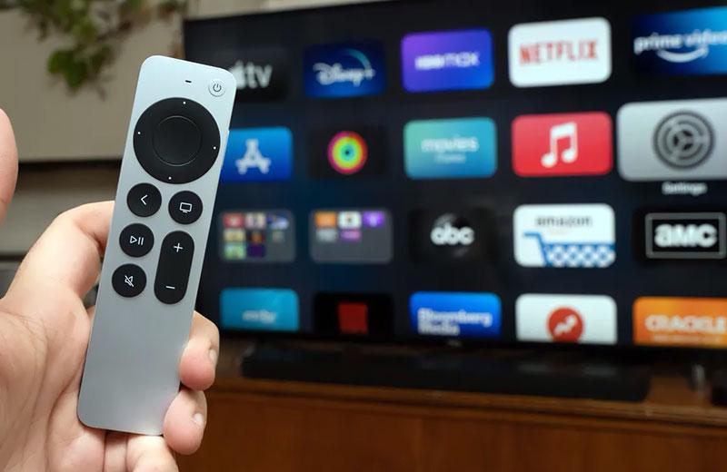 Управление Apple TV 4K (2021)