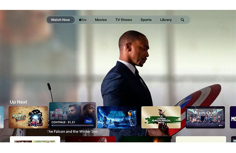 Apple TV 4K (2021) отображение