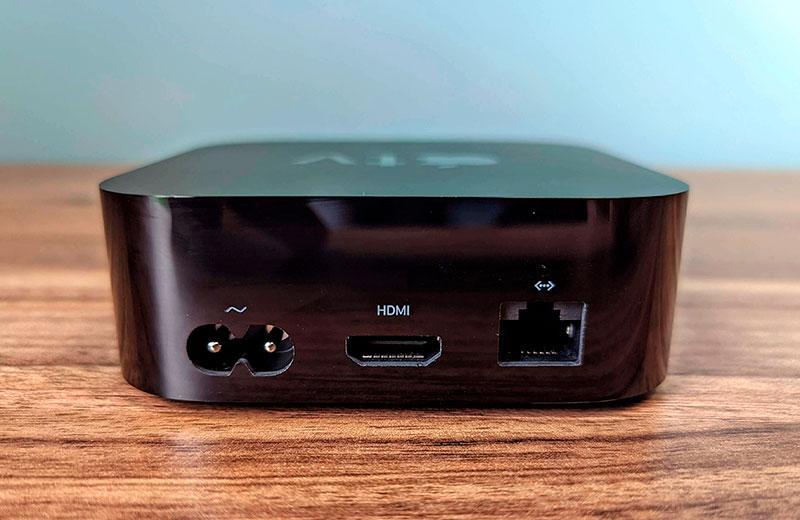 Разъёмы Apple TV 4K (2021)