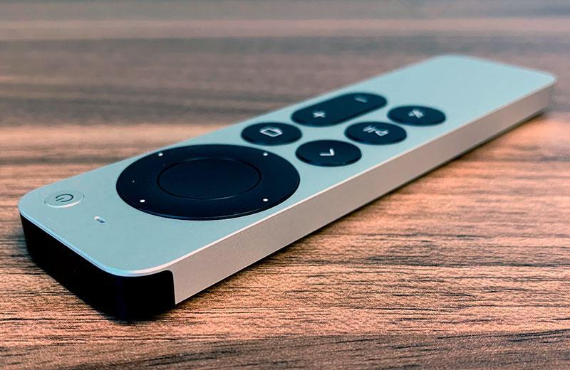 Apple TV 4K (2021) пульт ДУ