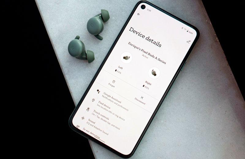 Приложение Google Pixel Buds A-Series