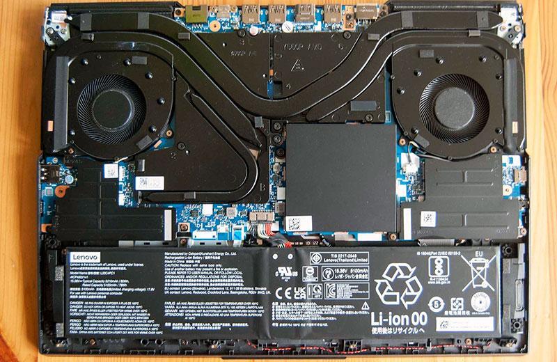 Компоненты Lenovo Legion 5 Pro