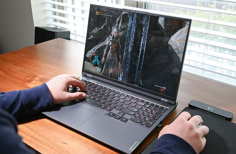 Lenovo Legion 5 Pro в играх