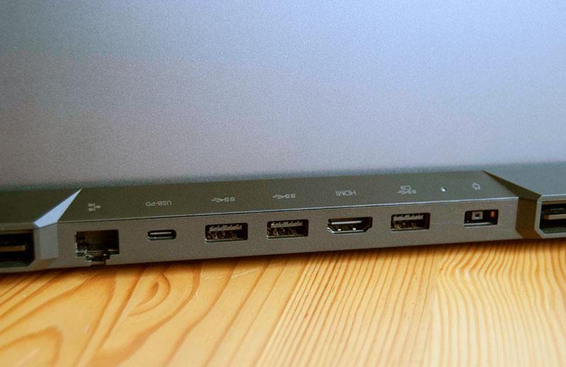 Разъёмы Lenovo Legion 5 Pro
