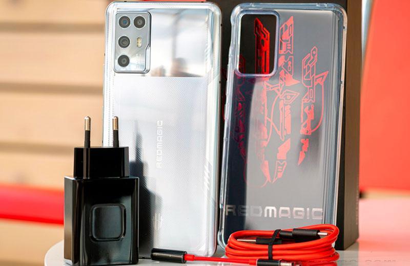 Nubia Red Magic 6R из коробки