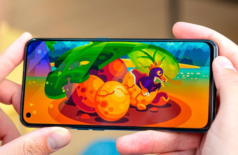 Realme GT 5G качество отображения