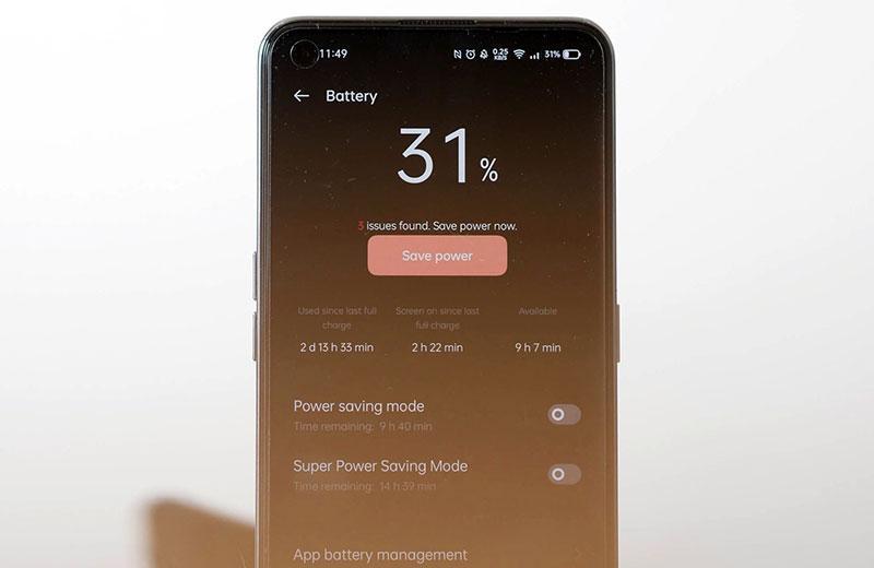 Батарея в Realme GT 5G