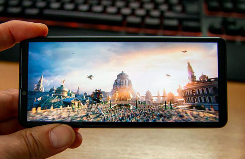 Sony Xperia 10 III качество отображения