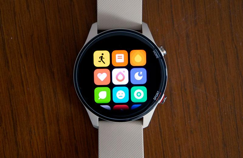 Xiaomi Mi Watch интерфейс