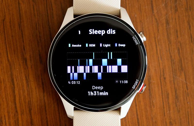 Xiaomi Mi Watch сон