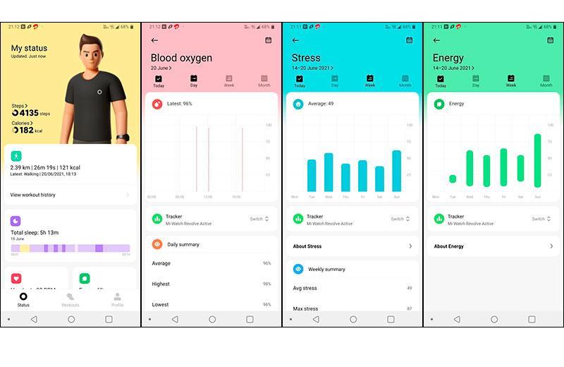 Приложение Xiaomi Mi Watch