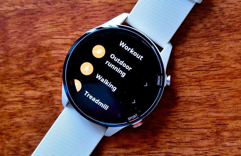 Xiaomi Mi Watch режимы тенировок