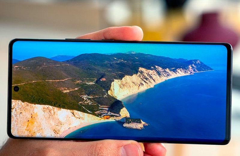 ZTE Axon 30 Ultra 5G дисплей