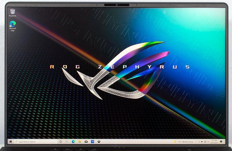Экран Asus ROG Zephyrus M16