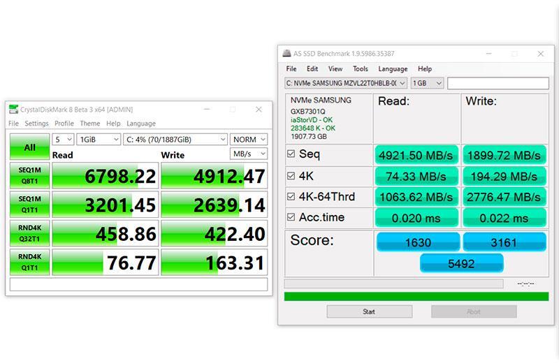 SSD накопитель Asus ROG Zephyrus M16