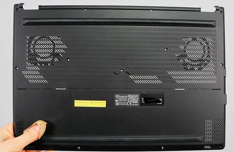 Asus ROG Zephyrus M16 корпус ноутбука сзади