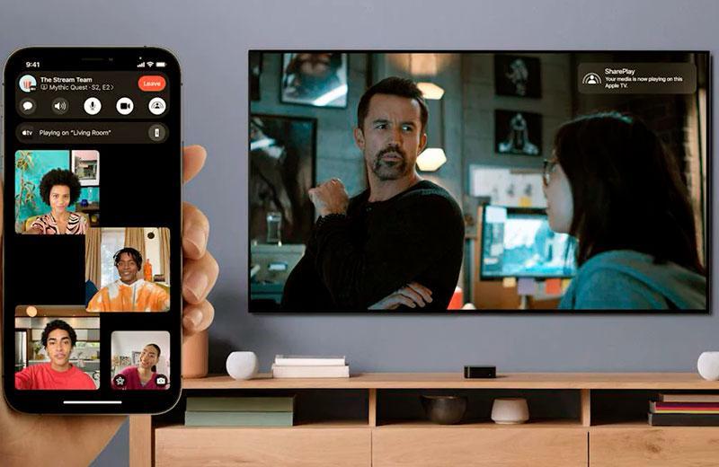 FaceTime и SharePlay в IOS 15