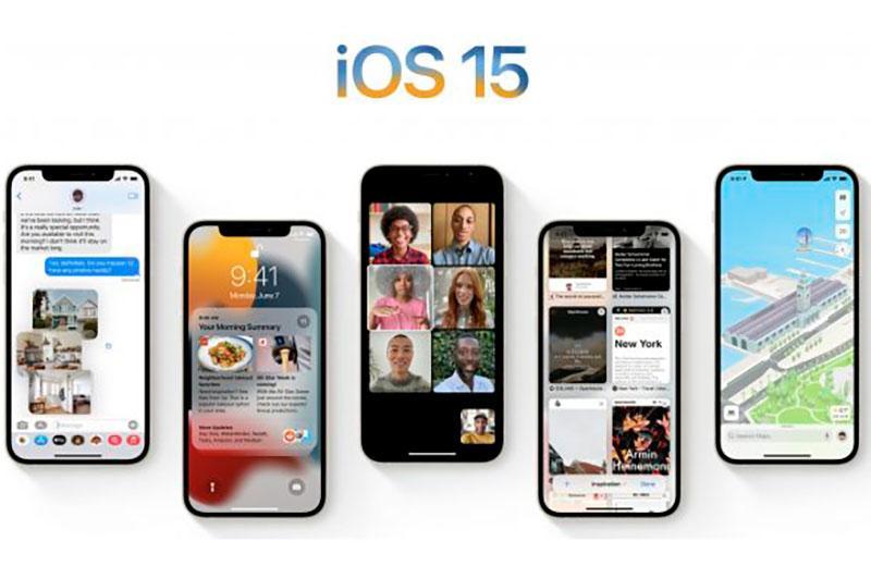 Поддерживаемые устройства IOS 15