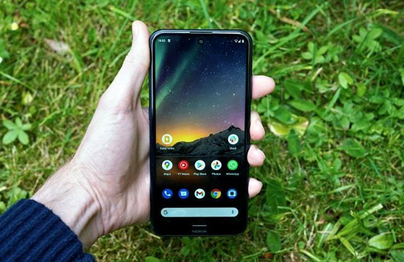 Экран Nokia X20