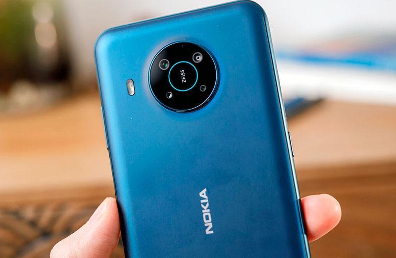 Nokia X20 камера смартфона