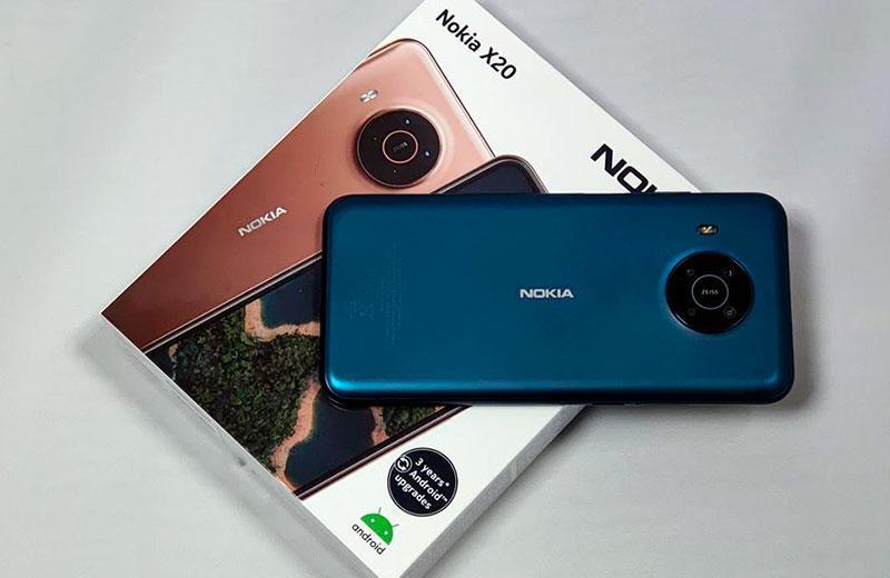 Характеристики Nokia X20
