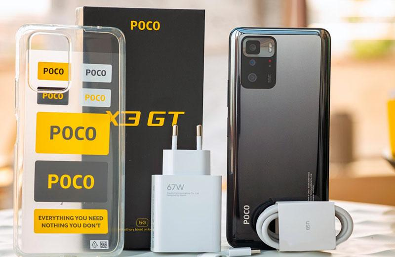 Poco X3 GT 5G распаковка