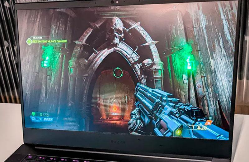 Razer Blade 14 (2021) дисплей