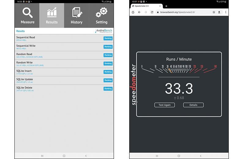 Тесты Samsung Galaxy Tab S7 FE