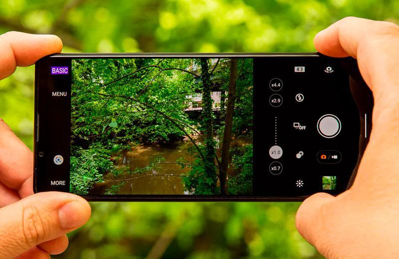Съёмка камер Sony Xperia 1 III