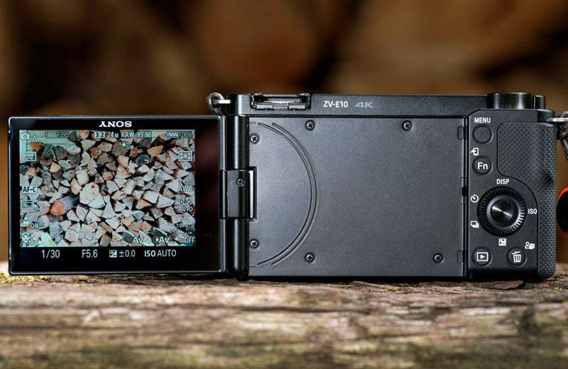 Sony ZV-E10 съёмка